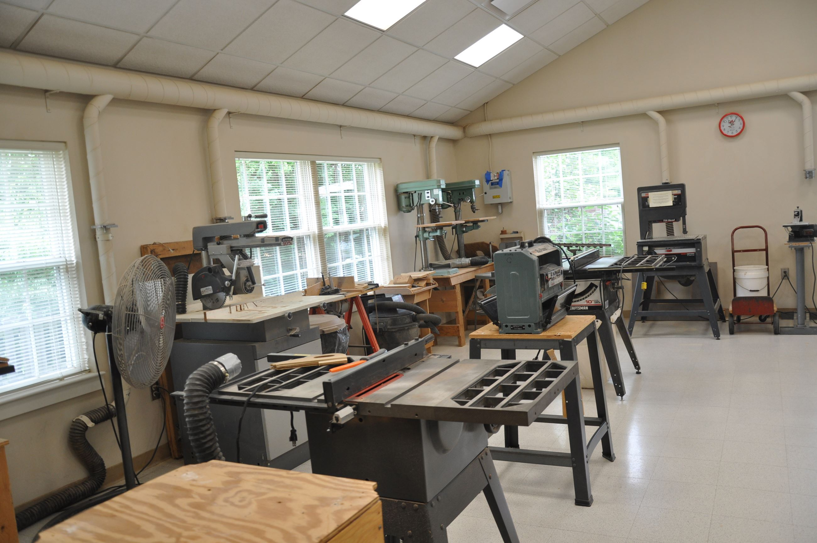 Woodshop room