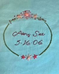 Hand Embroidery 2 with Heidi Rice