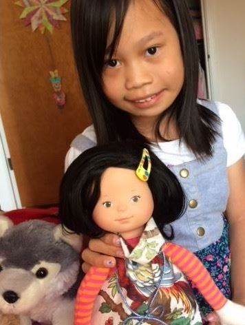 Ceci and her doll
